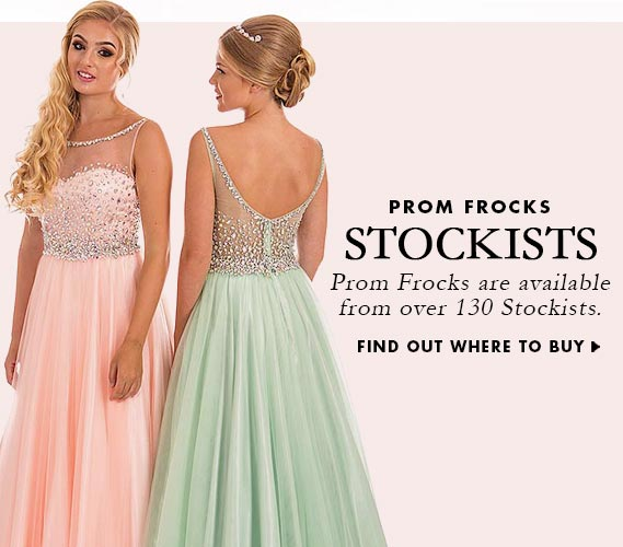 Find an Official Prom Frocks Stockist Near You