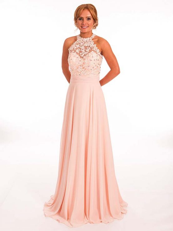 Prom Frocks Pf9283 Blush Pink Prom Dress Prom Frocks Uk