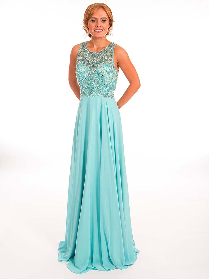 Prom Frocks PF9326 Tiffany Blue Prom Dress - Prom Frocks UK Prom Dresses