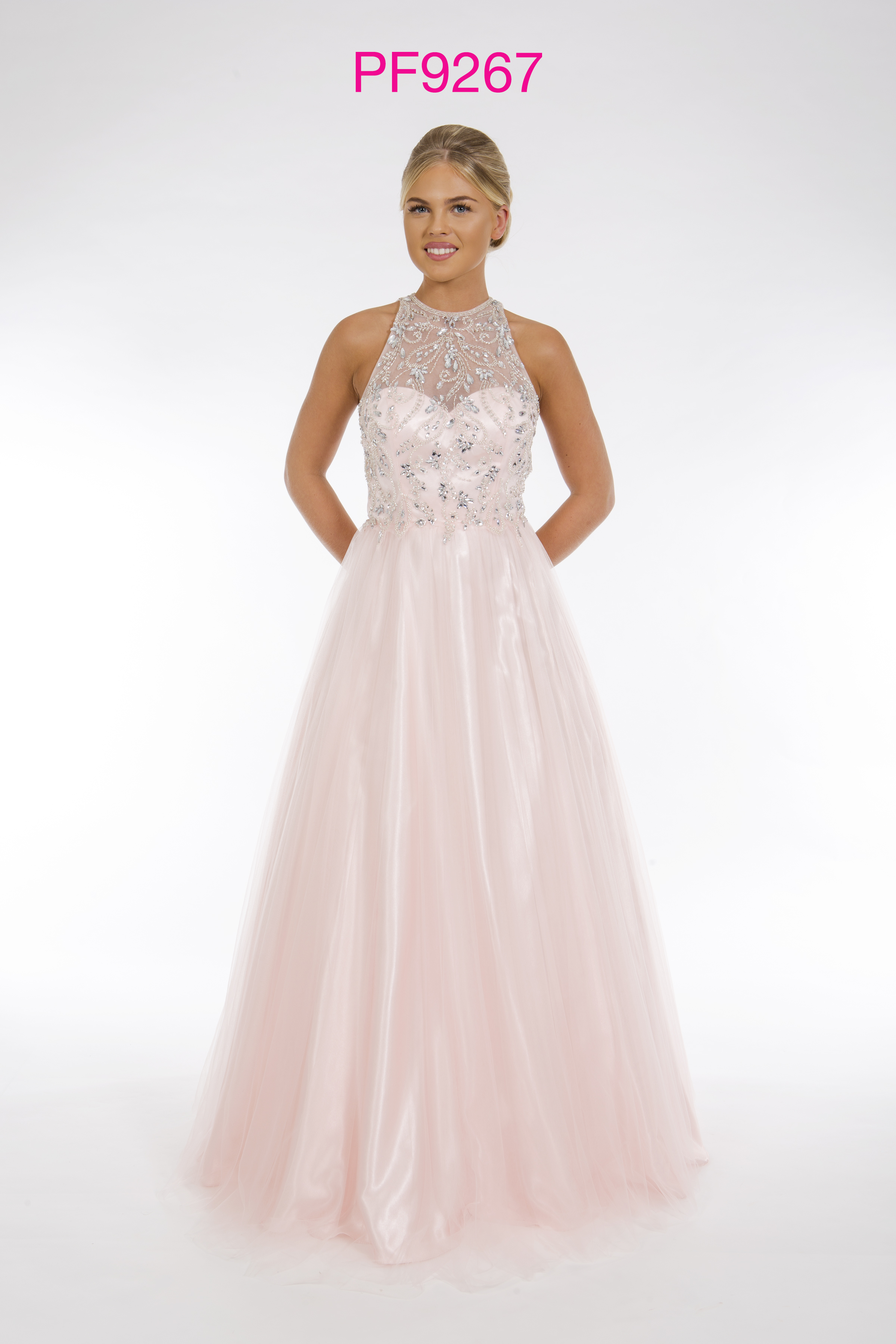 Prom Frocks PF9267 Pale Pink Prom Dress - Prom Frocks UK ...