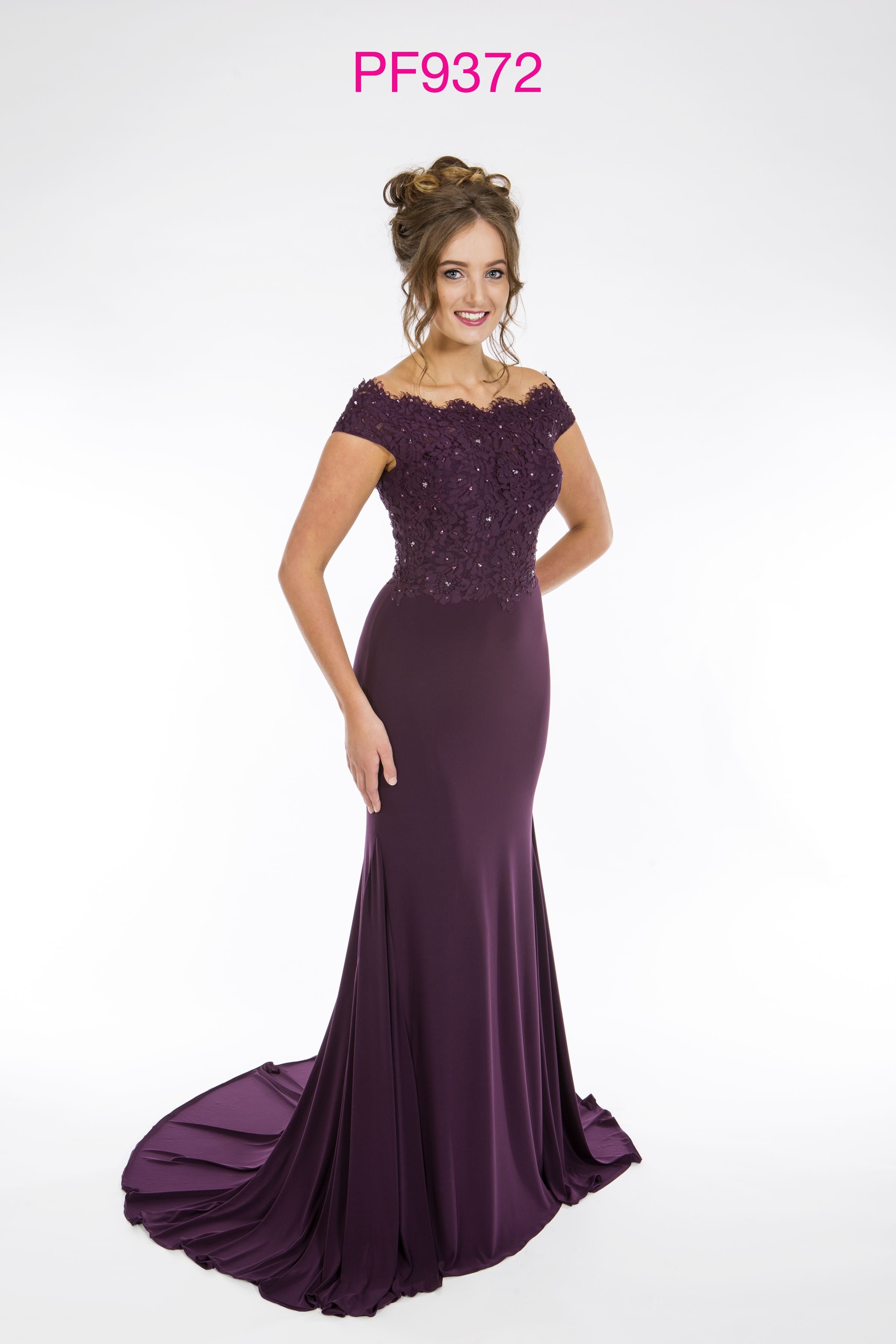 Prom Frocks PF9372 Dark Purple Prom Dress - Prom Frocks UK ...