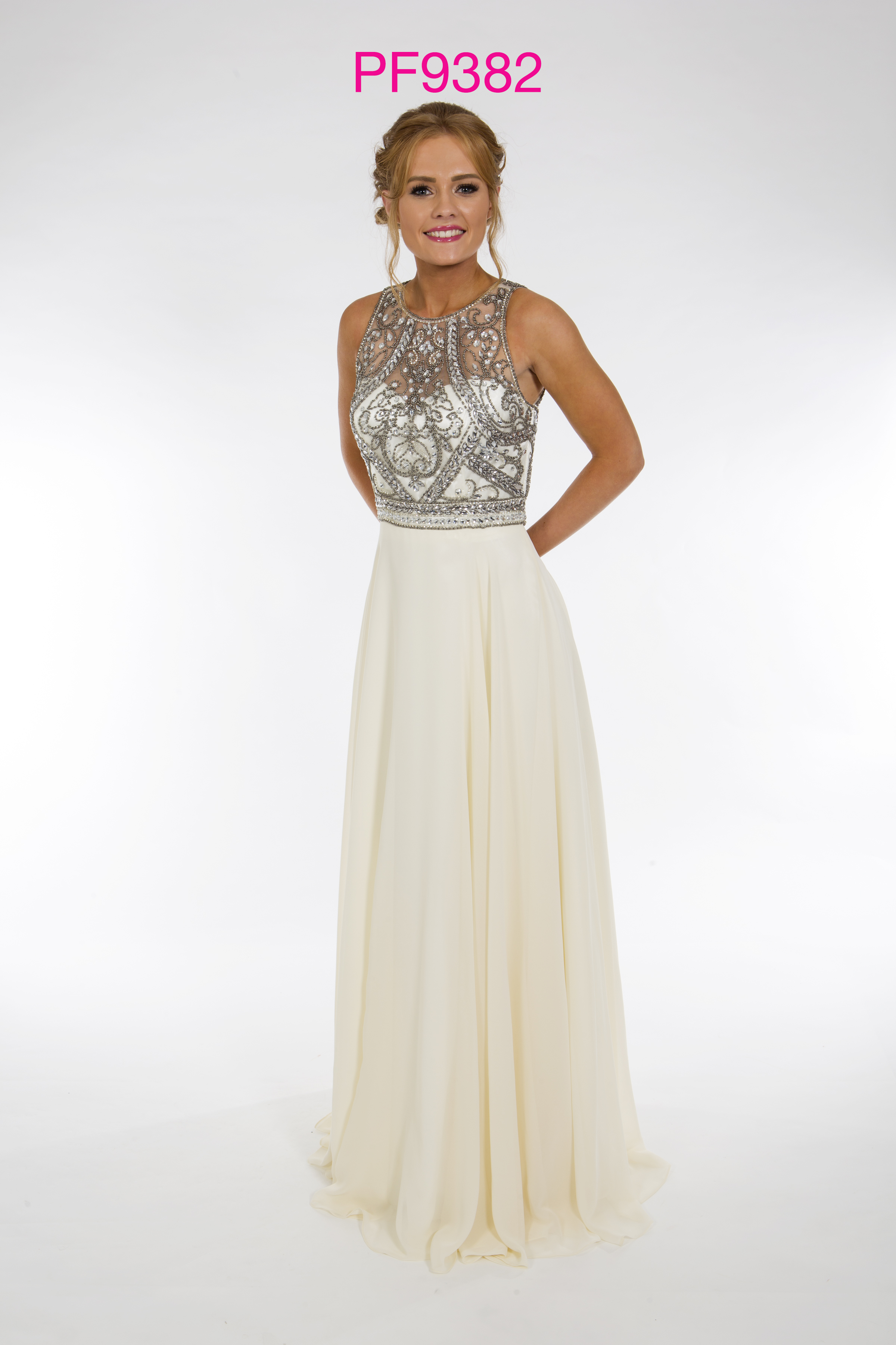 Prom Frocks Pf9382 Champagne Grey Prom Dress Prom Frocks